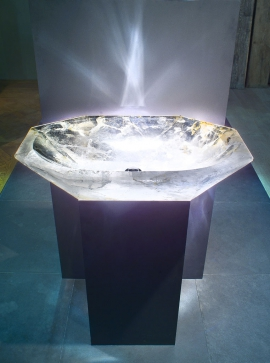Luxury Crystal Rock Basin