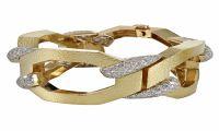 David Webb : Diamonds and Gold Bracelet